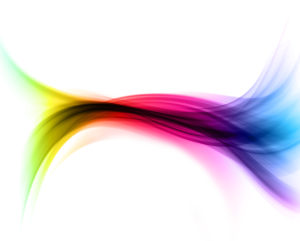 Abstract rainbow coloured background
