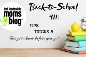 Back-to-School 411