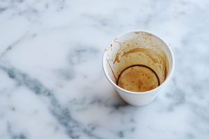 Canva - White Paper Cup on Top of Gray Marble Surface