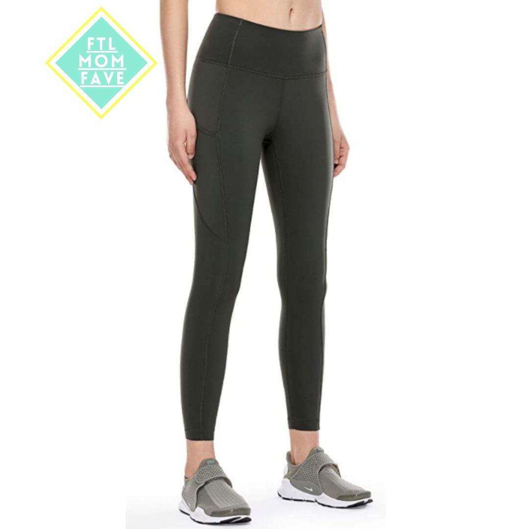 High Waisted Yoga Pants - FTL Mom Fave