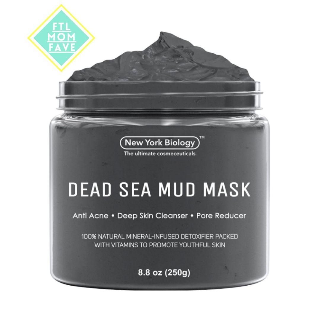 Dead Sea Mud Mask - FTL Mom Fave