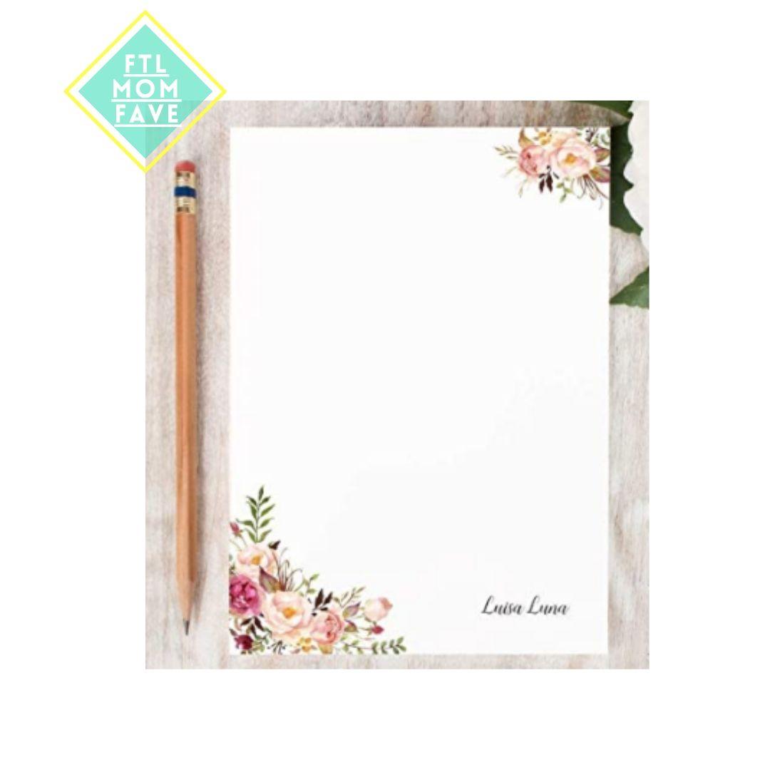 Flora; Notepad - FTL Mom Fave