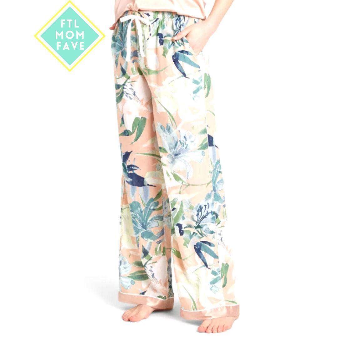 Floral Print Pajama Pants - FTL Mom Fave