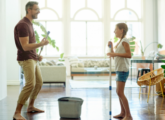 Spring Cleaning 10 Fun Tips
