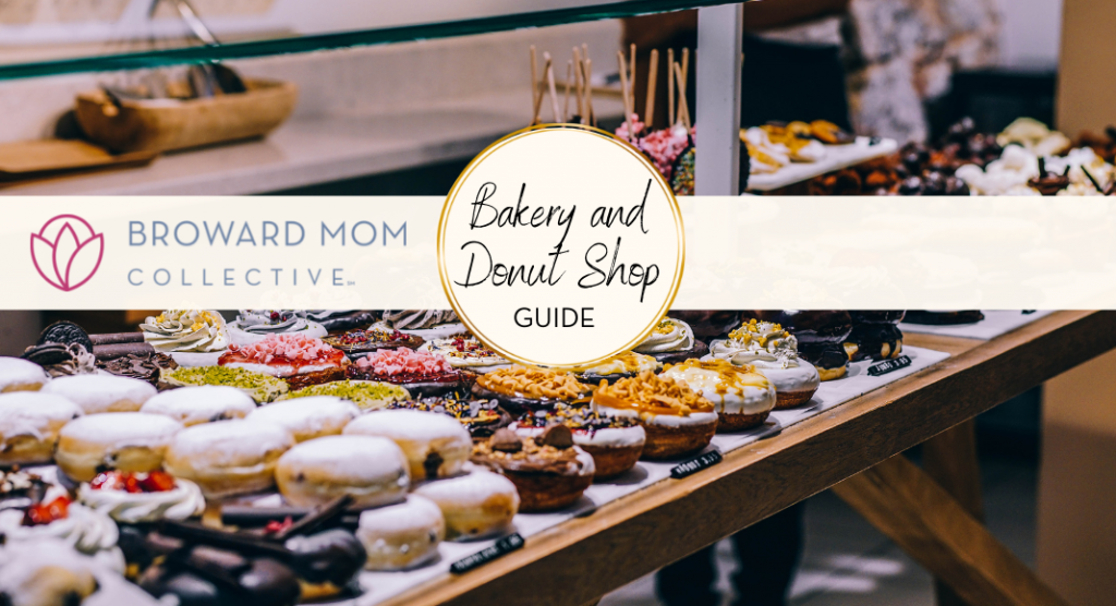 Broward Mom Collective Broward Bakery and Donut Shop Guide South Florida