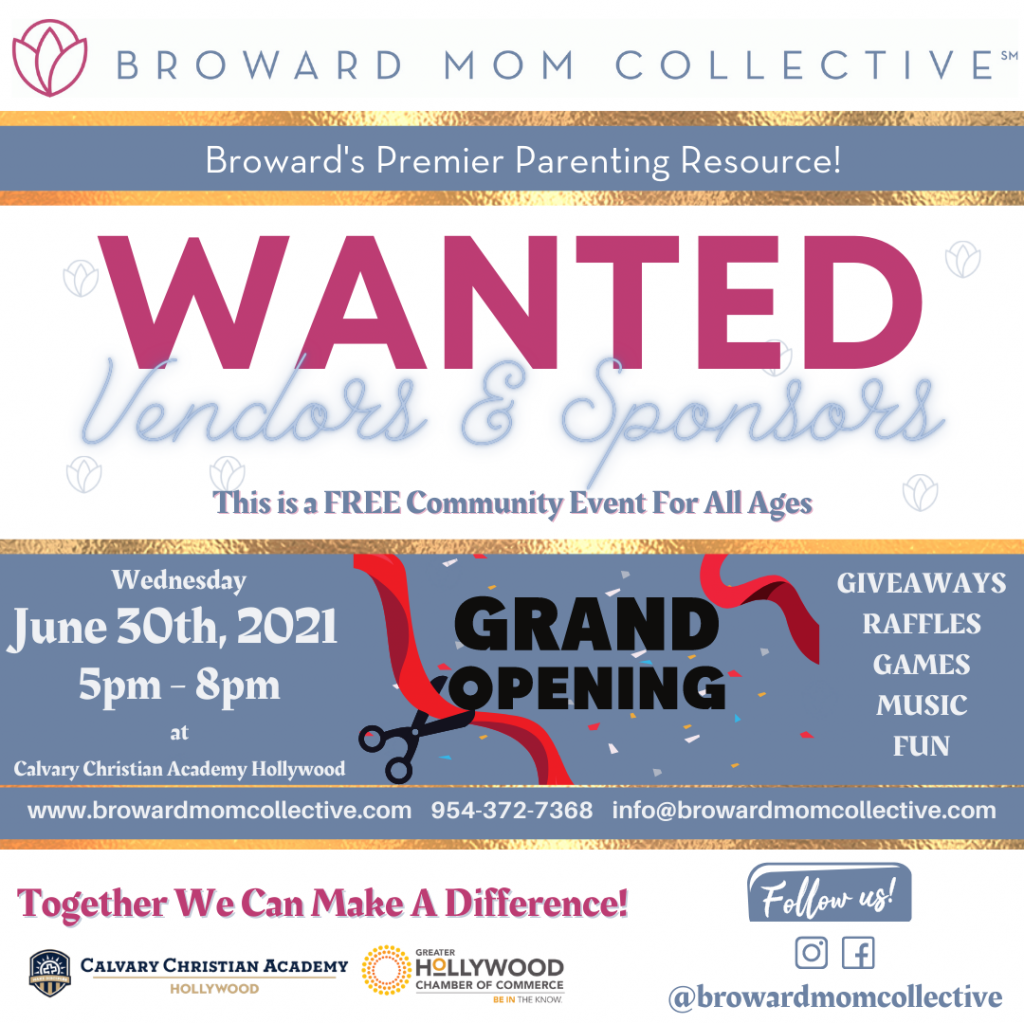 Broward Mom Collective Grand OpeningFree Community Event For All Ages (1)