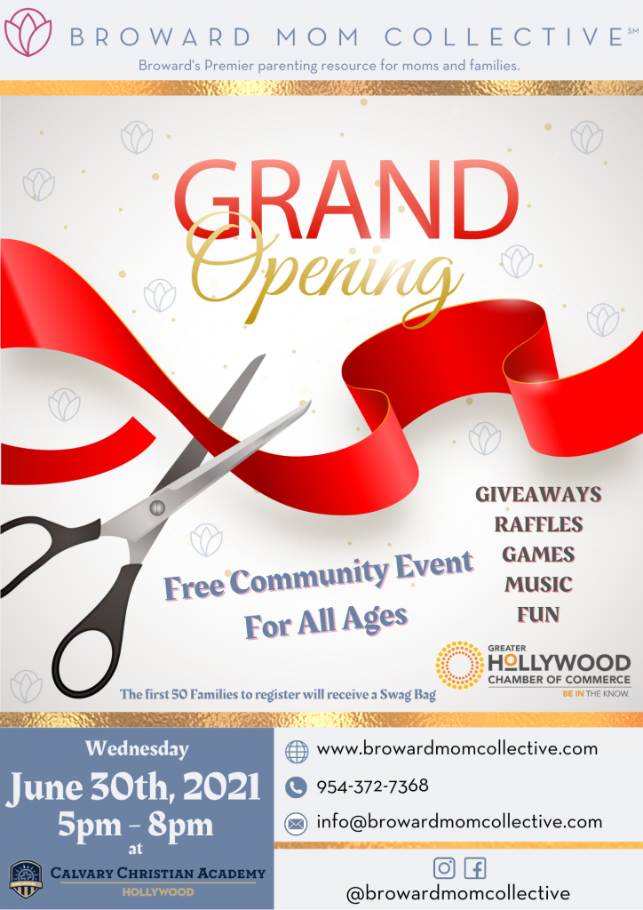 Broward Mom Collective Grand Opening Hollywood FL